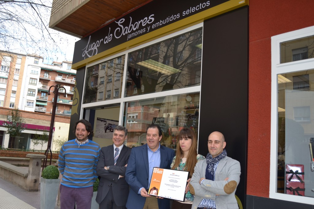 Lugar de sabores, emprendedor del mes de marzo. Ajer, Cmara, Fer y Ader. Emprenderioja
