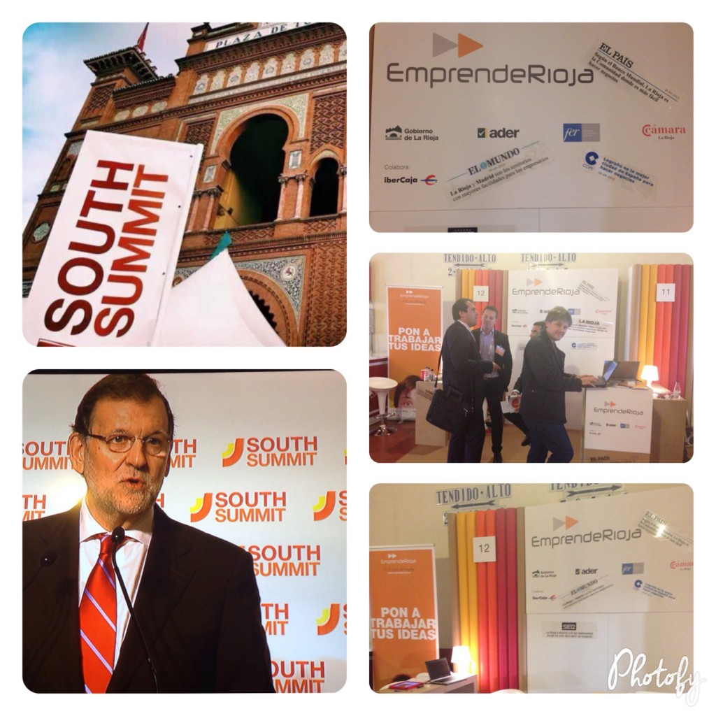 Emprenderioja en south summit 2015